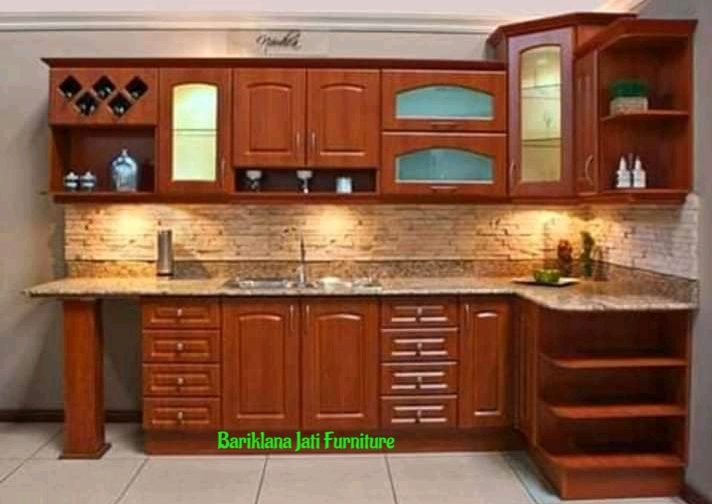 Jual Kitchen Set Terlengkap Kayu Jati, kitchen set, ruang makan, dapur, ruang dapur, ruang dapur minimalis, tempat masak, tempat makanan, furniture, furniture indonesia, promo furniture, bariklana jati furniture, harga furniture, harga kitchen set, harga , jual kitchen set, berkualitas, kayu jati, kitchen set berkualitas,